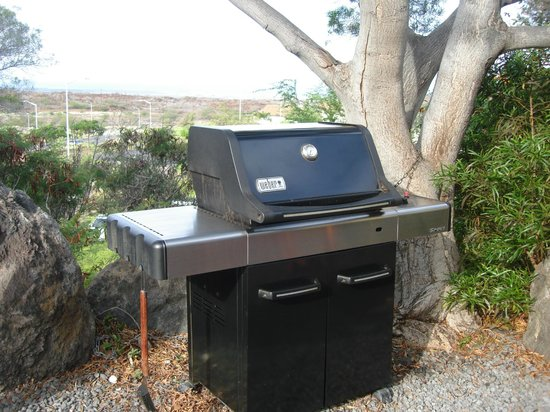 Paniolo Greens Resort: BBQ grill