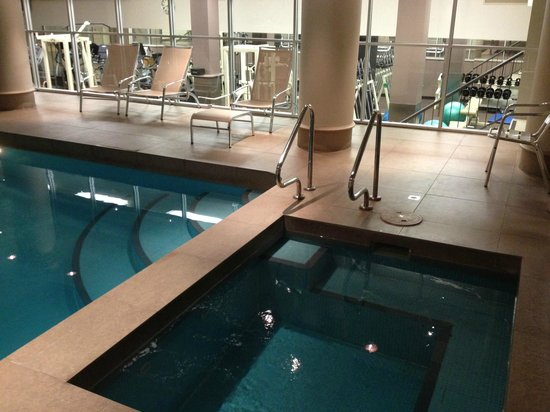 The Playford - MGallery by Sofitel : pool/spa small but serve the purpose