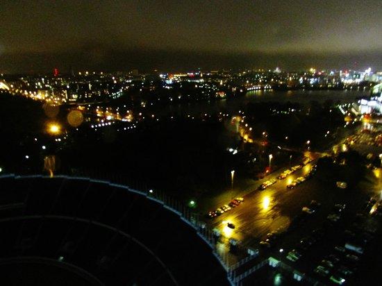 Olympic Stadium (Olympiastadion): Stadium Tower Night View