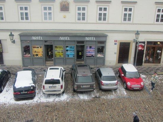 Residence Vitkova Apartments: vista desde  la habitación en invierno en febrero