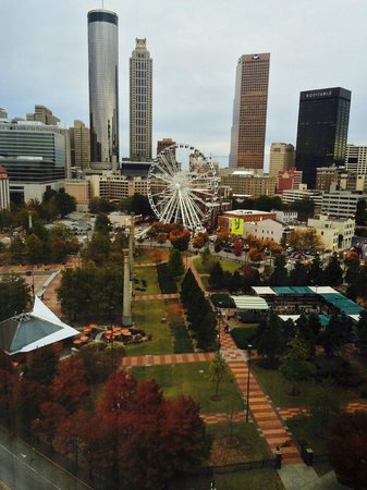 Omni Atlanta Hotel at CNN Center : Day View from North Tower 1380