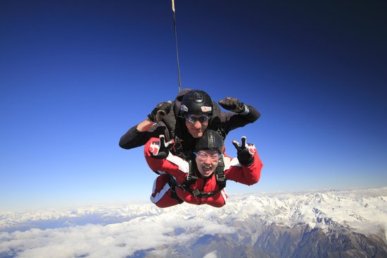 Skydive Franz: lovin it