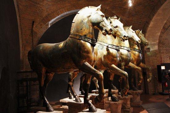 Basílica de San Marcos: The 4 bronze horses