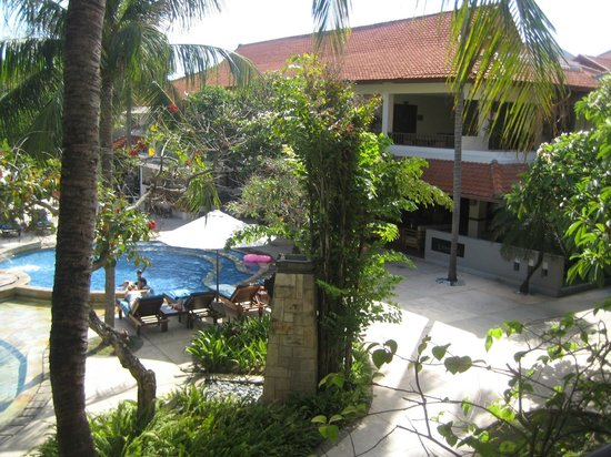 Bali Rani Hotel: View from room 235
