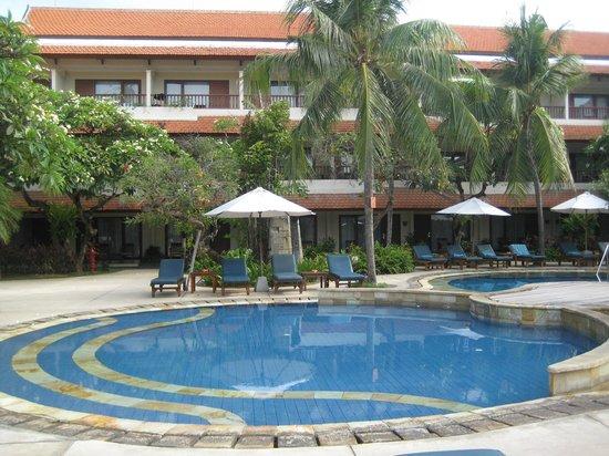Bali Rani Hotel : Pool area