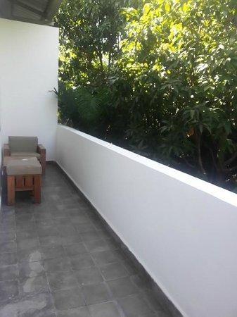 The Kabiki: Small balcony in the room
