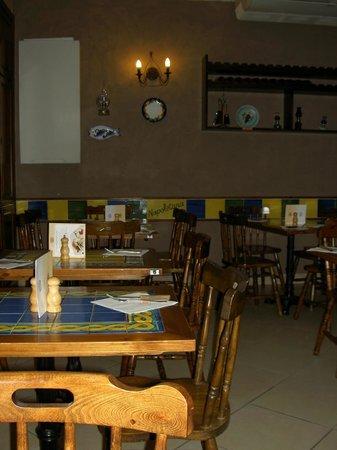 La Cuccagna: Интерьер ресторана.