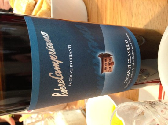 Podere Campriano: Wine from the owners
