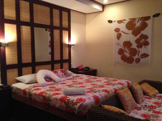 Bali Reski Asih Cottages : Firm, but comfy bed