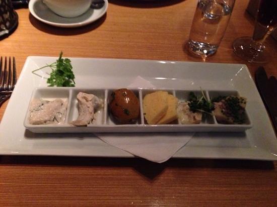 Stockholm Fisk: Herring plate, delicious!