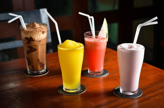 The Commons: Milk shakes and juices