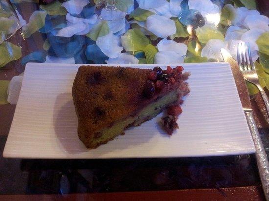 Marie Thé Cuisine : Gâteau thé vert/ fruits rouges excellent