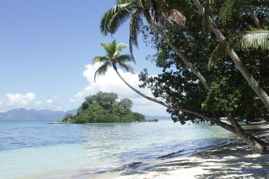 Naigani Island Resort: The beach #Naigani #Restort #Fiji
