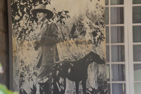 Karen Blixen Museum: Karen and her dog