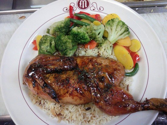Mizpah Hotel: Chicken A La Cumberland