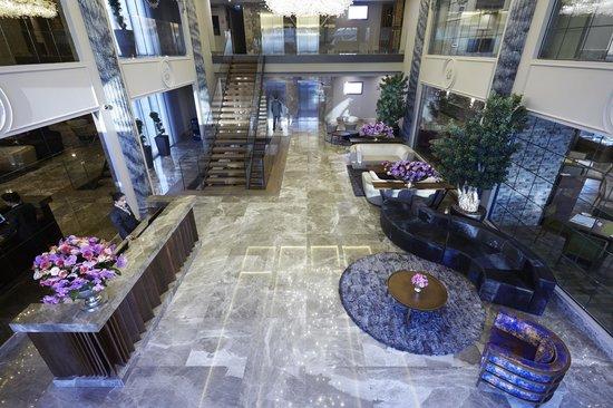 Biz Cevahir Hotel Istanbul : Lobby