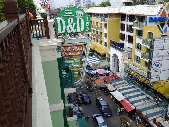 D&D INN : Вид с крыши