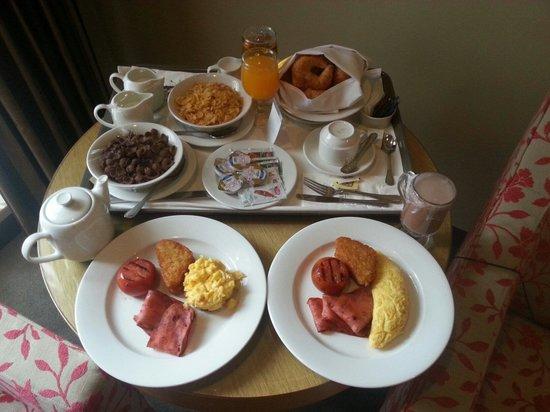 Room Service Breakfast Picture Of Berjaya Times Square