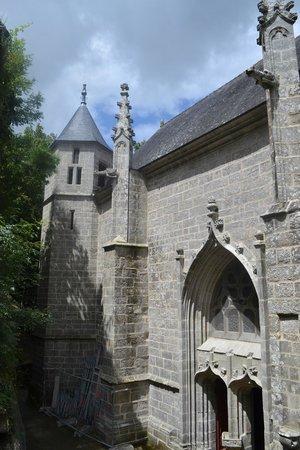 Sainte Barbe : Chapelle Ste Barbe - l'une des 3 portes
