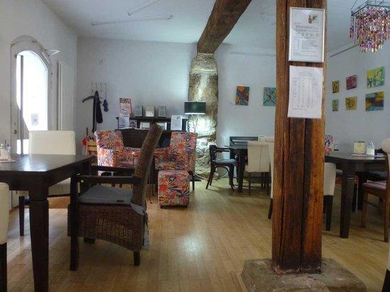Café Kunstpause: Interieur Erdgeschoss