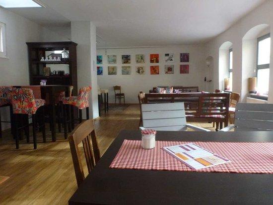 Café Kunstpause: Erster Stock für besondere Anlässe
