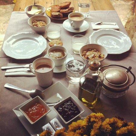 Can Bassa: Desayuno
