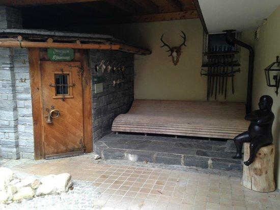 Alpenhotel Oberstdorf : Outside sauna