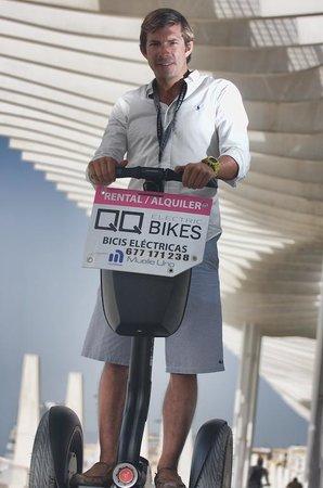 QQ Bikes: Tours en segway por el centro histórico de Málaga y Marbella