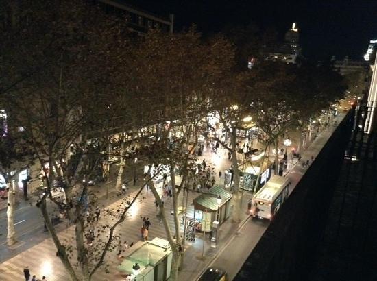 Hotel SERHS Rivoli Rambla: Från balkongen