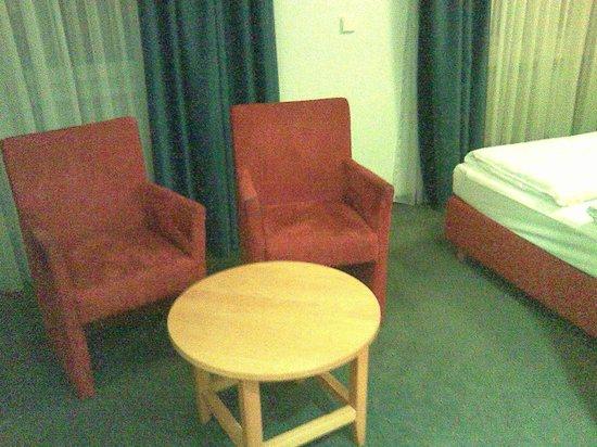 Novum Hotel Gates Berlin Charlottenburg: SItzbereich