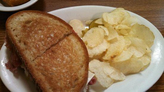 Rebecca's Dutch Kitchen : Rebecca's Rachel Sandwich $6.95