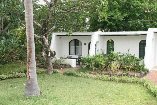 Diani Sea Lodge: unser Bungalow