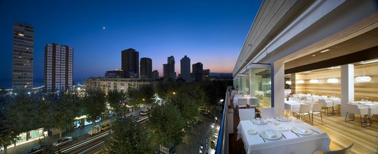 Hotel Agir : Vista nocturna
