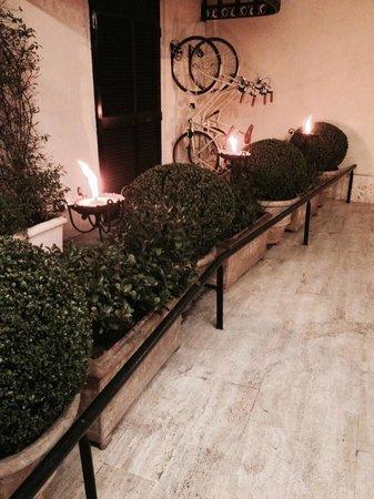 Aldrovandi Villa Borghese : Entrance