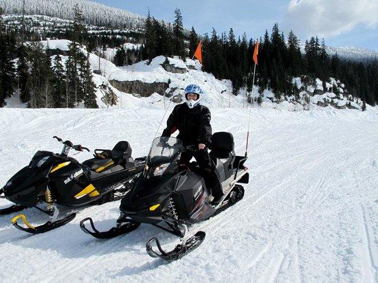 Canadian Wilderness Adventures: On the Ski-Doo