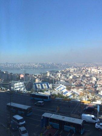 Rixos Pera Istanbul : Utsikt från rum 1303
