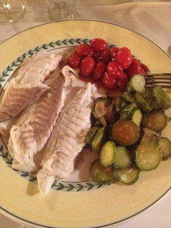 Sostio a Levante: Dinner