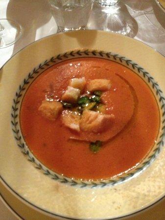 Sostio a Levante: Tomatoes cream soup