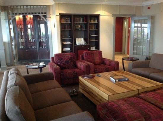 The Lounge at Tarraleah Lodge