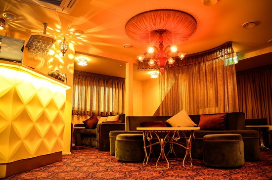 Caravan House Restaurant: Hookah lounge top floor