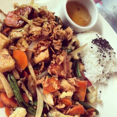 Creperie De Aurinko : wok med ris