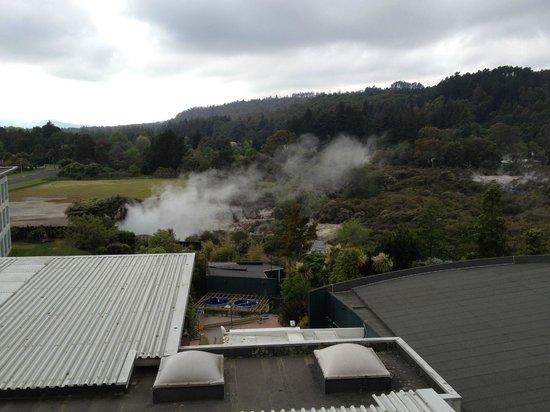 Holiday Inn Rotorua: View from the balcony
