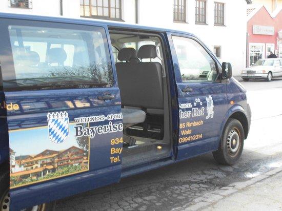 Wellness-Sport-Hotel Bayerischer Hof: Unser Abholservice vom Bahnhof