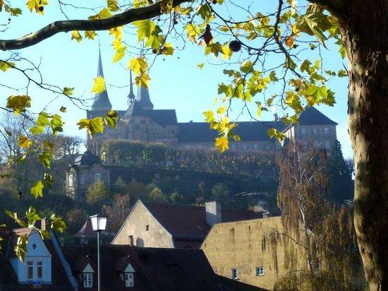 St. Michael's Church: Gesamtansicht von der Regnitz aus