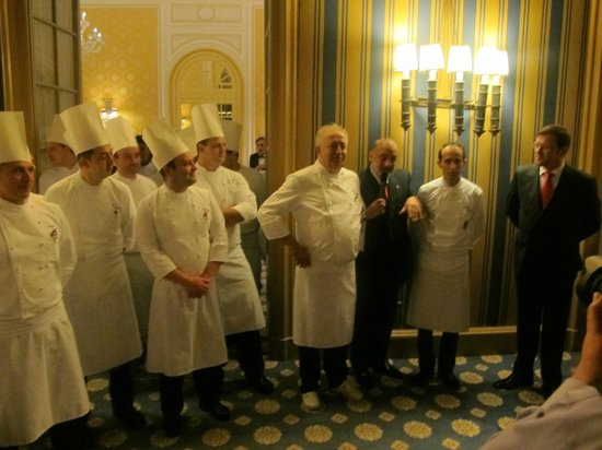 Villa d'Este : The chefs at their best