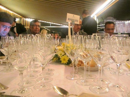 Villa d'Este : Wine Service absolutely superb