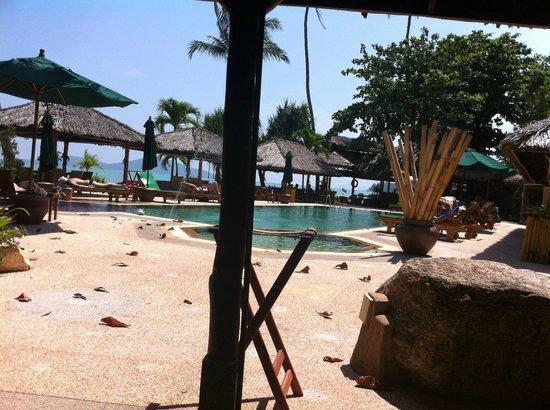 Friendship Beach Resort & Atmanjai Wellness Centre: Vista Piscina