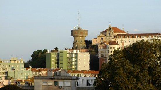 Neya Lisboa Hotel: из окна