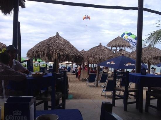 Blue Chairs Beach Club Restaurant & Bar: blue chairs beach