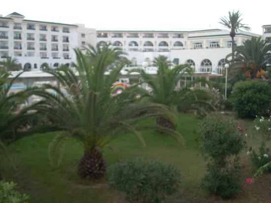 El Mouradi Palm Marina: view from room balcony